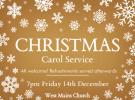 Christmas Carol Service